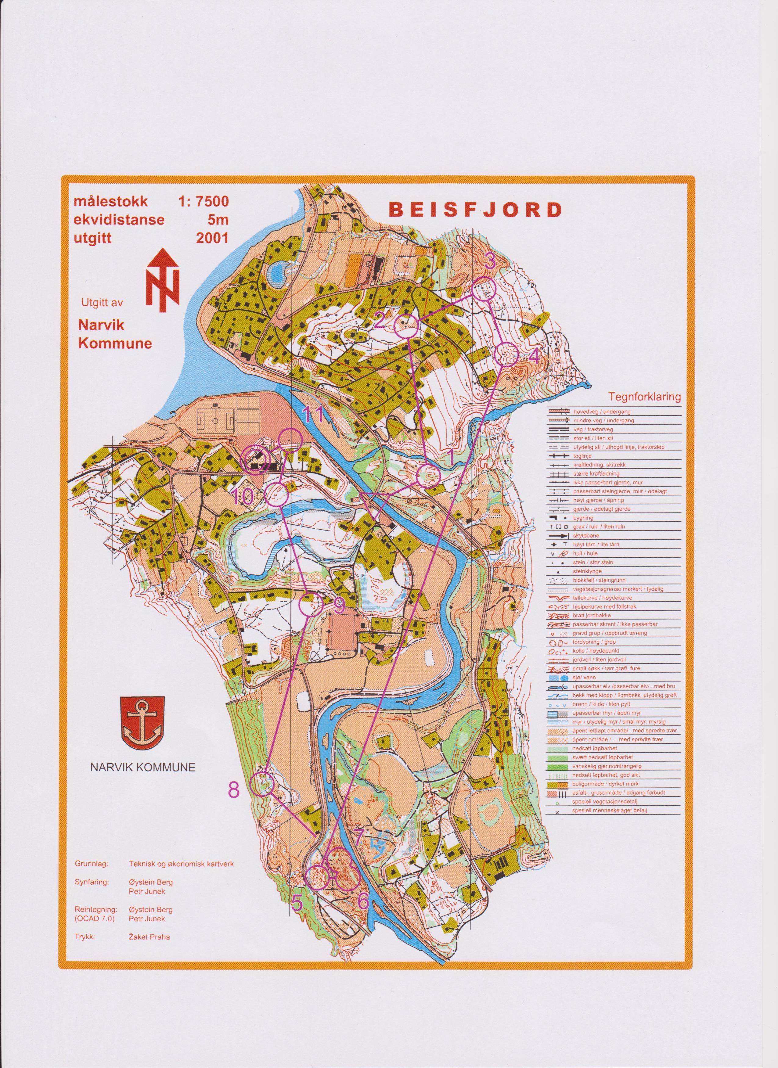 trofors kart Nordland O Krets trofors kart